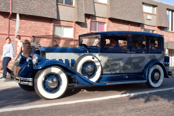 1932 Pierce Arrow Twelve Touring Sedan